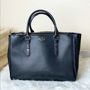 New Kate Spade Leighann Mulberry Tote